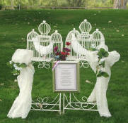 Classic white dove release with a keepsake poem for your wedding Poetry reading framed poem