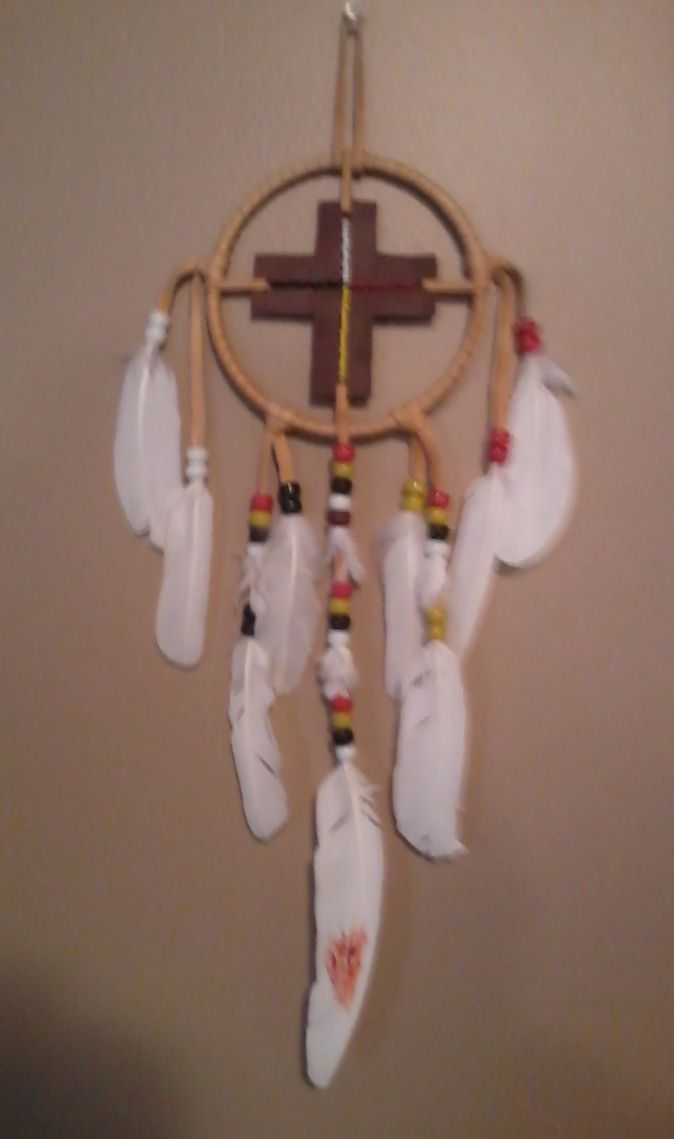Ojibwe Cross -  Christian and Native American Symbolism